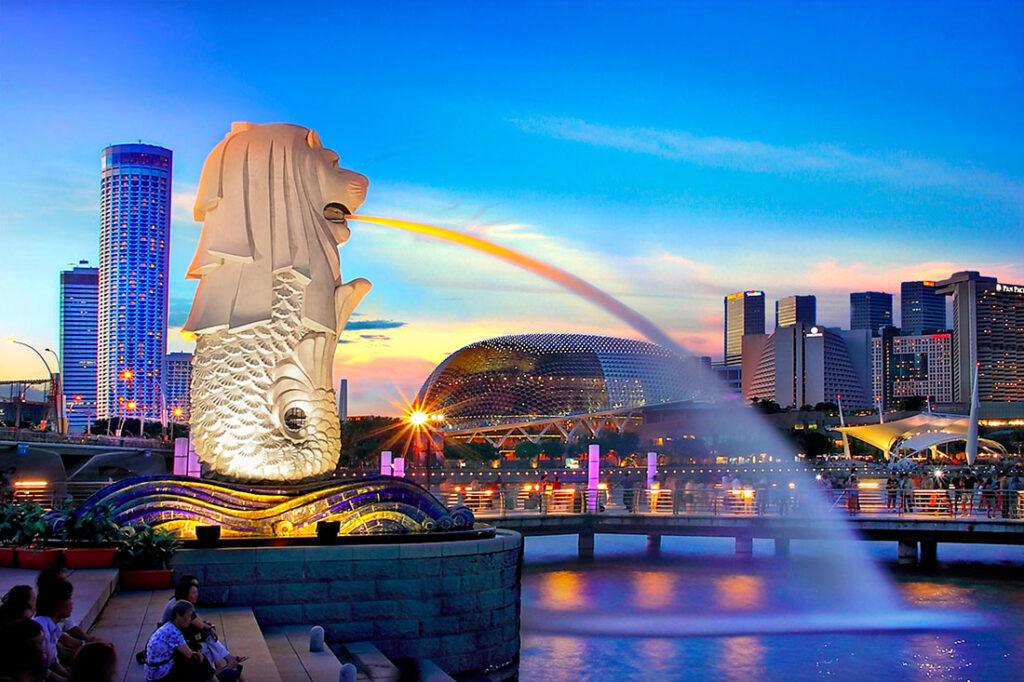 Singapore Lion city merlion